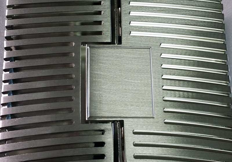 Custom Revolving Door Grills